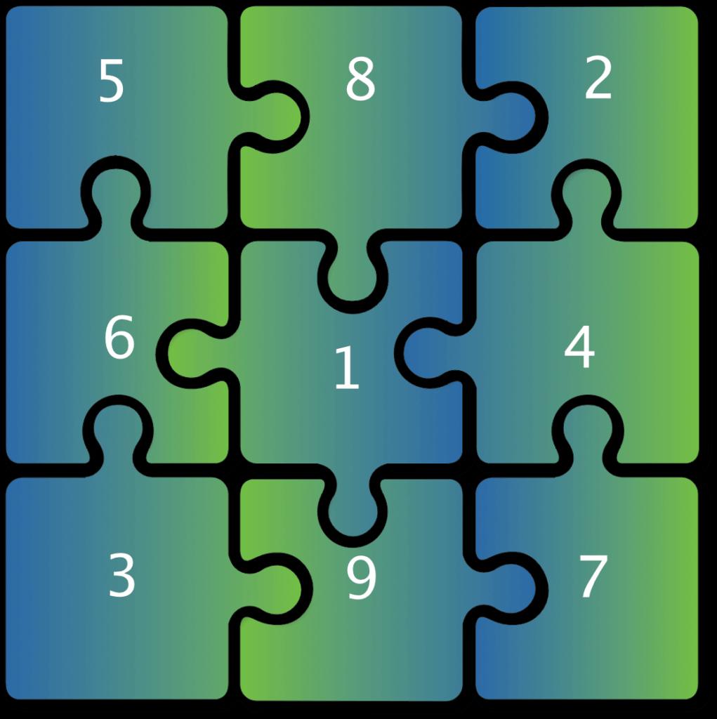 Unser Programm- Puzzle